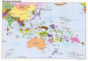 East-Asia-and-Oceania-Political-Map - Devpolicy Blog from ...