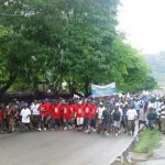 PNG Transparency International 'Walk Against Corruption'