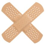 Band-aids, breathing space and aid which works
