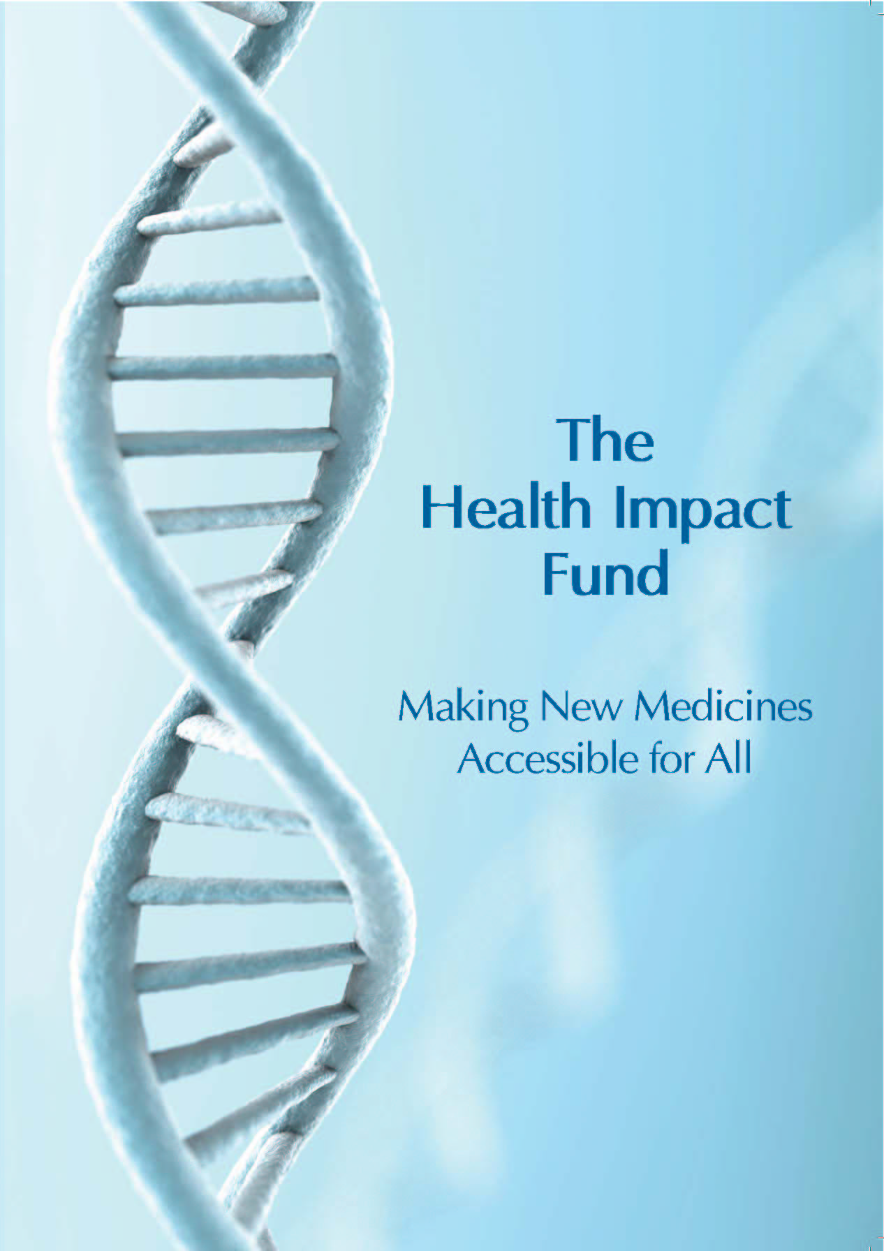 The health impact fund