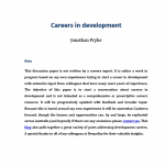 How do I get started in a career in development?