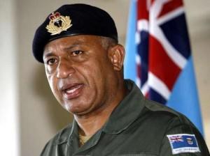 Commodore Josaia Voreqe Bainimarama, Prime Minister of Fiji