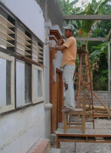 School construction in Bali