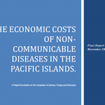 The economic costs of non-communicable diseases in the Pacific Islands