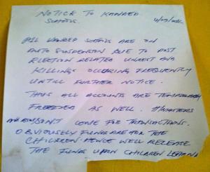 PEPE 5 - Notice to Kandep schools