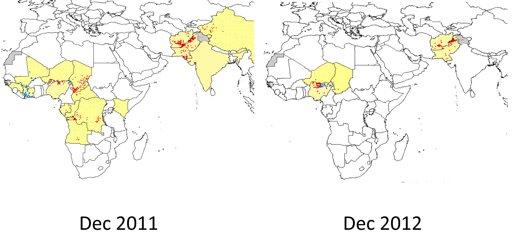 Polio in the world