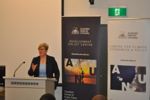 Rachel Kyte at the Development Policy Centre