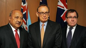 The Foreign Ministers: Ratu Inoke Kubuabola, Bob Carr and Murray McCully