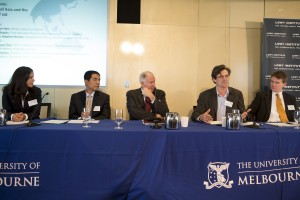 Panel discussion at the future of international development conference