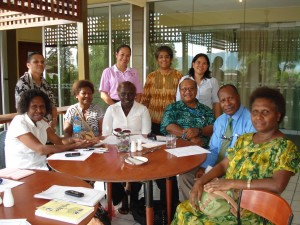 The first meeting of the CMC Lae Advisory Council, June 21, 2013.