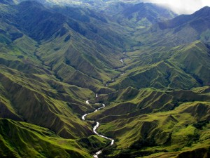 Menya river in Papua New Guinea - a land of beauty and opportunity. Photo: Brian Chapaitis.