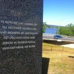 International humanitarian memorial opened in Canberra