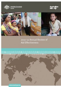 Annual review of aid effectiveness