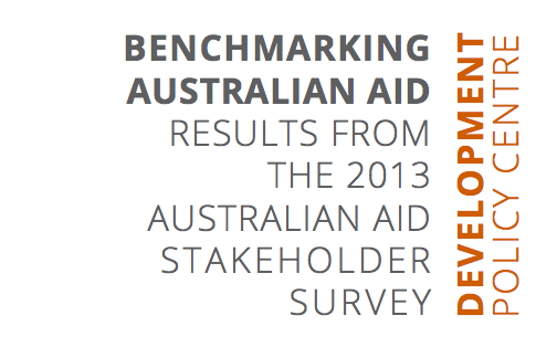 2013 Australian aid stakeholder survey results released