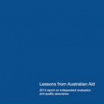 The first Lessons from Australian Aid report: a flawed flagship