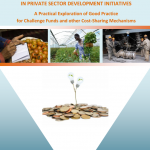 Demonstrating additionality in private sector development initiatives – a new exploration of good practice for cost-sharing mechanisms