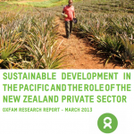 NZ aid and the New Zealand private sector's role in Pacific sustainable economic development