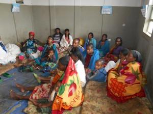 Women at the maternity waiting home, Saylem Health Centre, Kafa Zone, Ethiopia. Photograph: Ruth Jackson