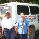 Getting services to survivors: a progress report from Lae