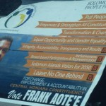 Elections, and the state Solomon Islands is in