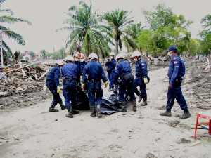 Singaporean search and rescue team, Banda Aceh