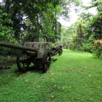 Vilu War Museum: tourism in Solomon Islands