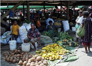 Fresh produce at Gordons Market, Port Moresby Credit - Catherine Wilson-IPS.