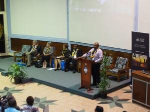 UPNG Vice Chancellor Albert Mellam