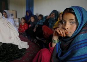 Afghan women's engagement meeting (image: Flickr/DVIDSHUB)