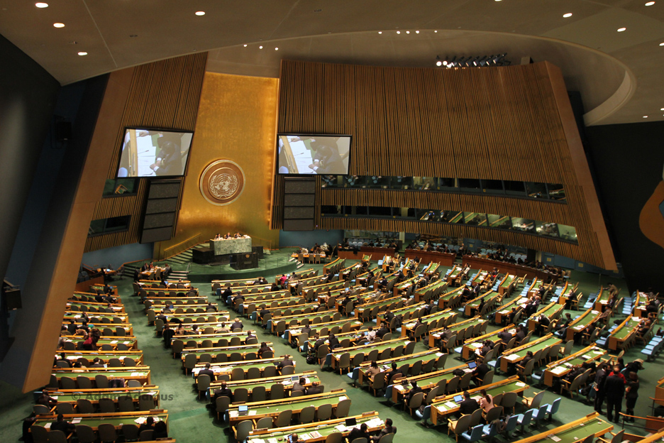 First session of the UN Open Working Group on SDGs (image: Flickr/Adam Adamus)