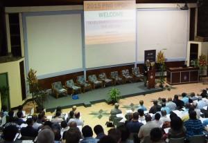 Jim Adams presenting at the 2015 PNG Update