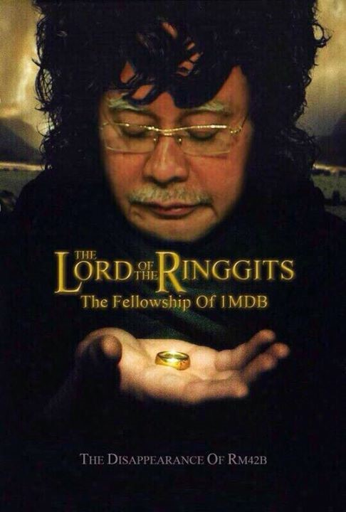 Photoshopped picture of the Malaysian PM from social media advocates