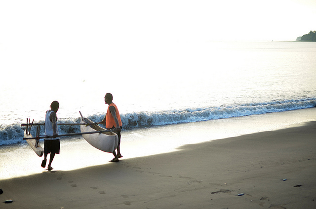 Outrigger, Malekula Island, Vanuatu (image: Flickr/World Bank/Tom Perry)