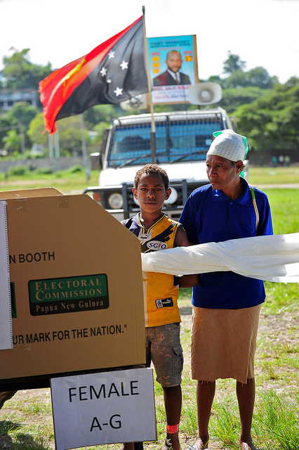 PNG 2012 elections (image: Flickr/DFAT/Defence)
