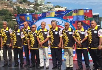PIF Leaders in Port Moresby