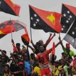 Celebrations in Port Moresby. Photo: EMTV