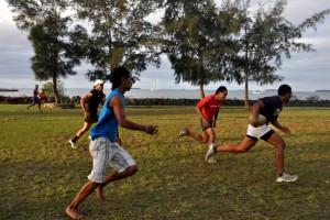 Rugby game, Tonga (image: NZ MFAT/Pedram Pirnia)