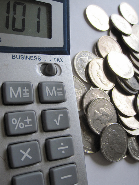 Calculating the bottom line (image: Flickr/Images Money)