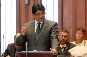 Fiji Minister for Finance and Attorney-General, Aiyaz Sayed-Khaiyum
