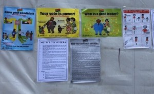 Vanuatu election notices
