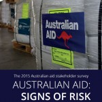 Australian aid: signs of risk