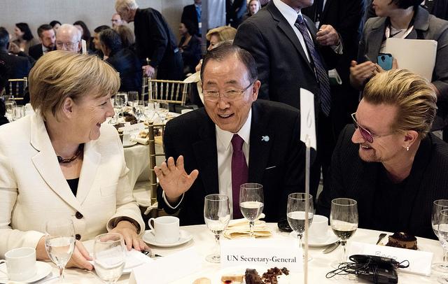 UN Secetary General hosts UN Private Sector Forum 2015 (Flickr/UN Photo)