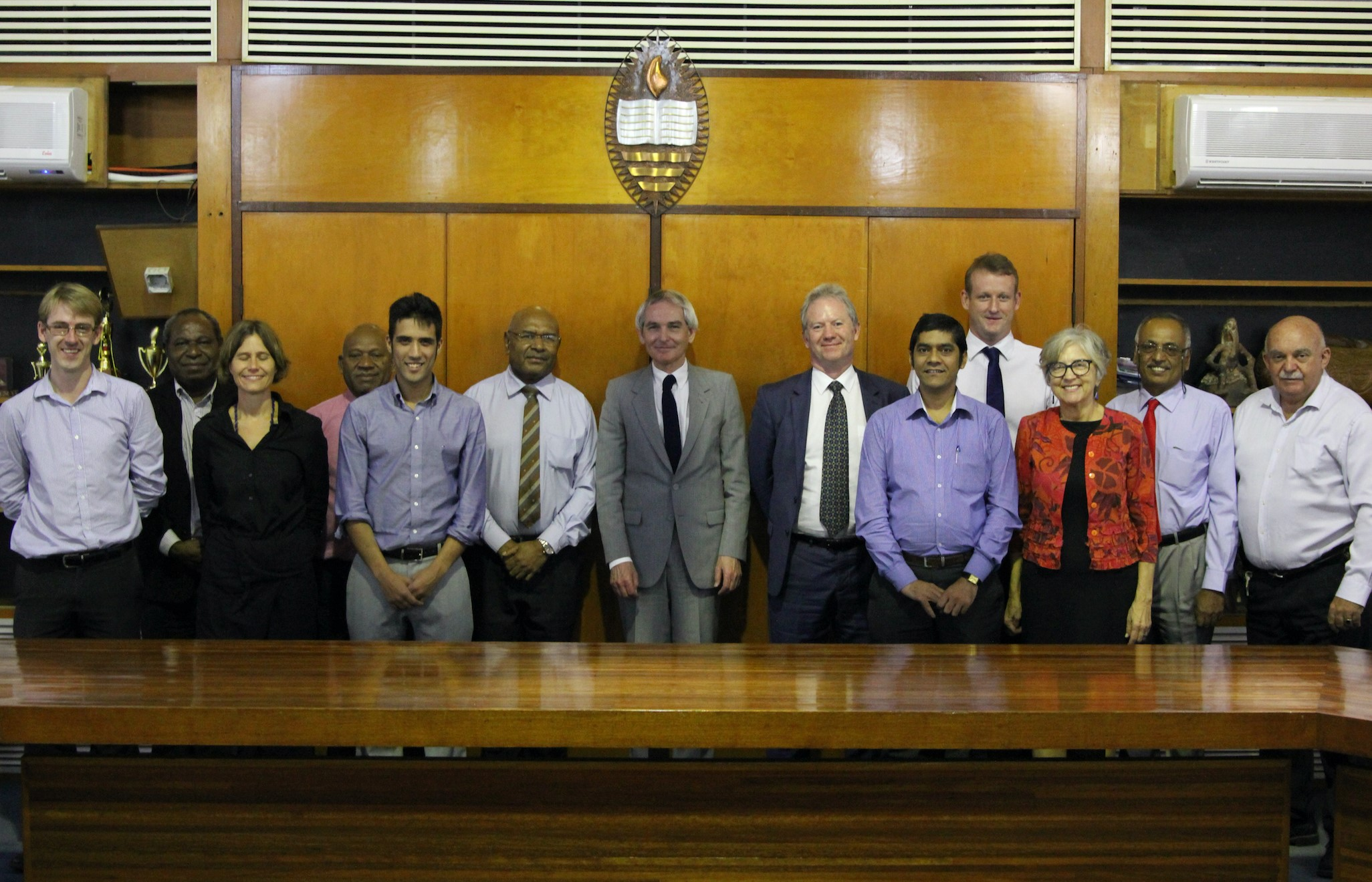 ANU-UPNG and AHC staff