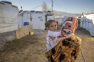 Syrian mother and child (image copyright World Vision Australia)