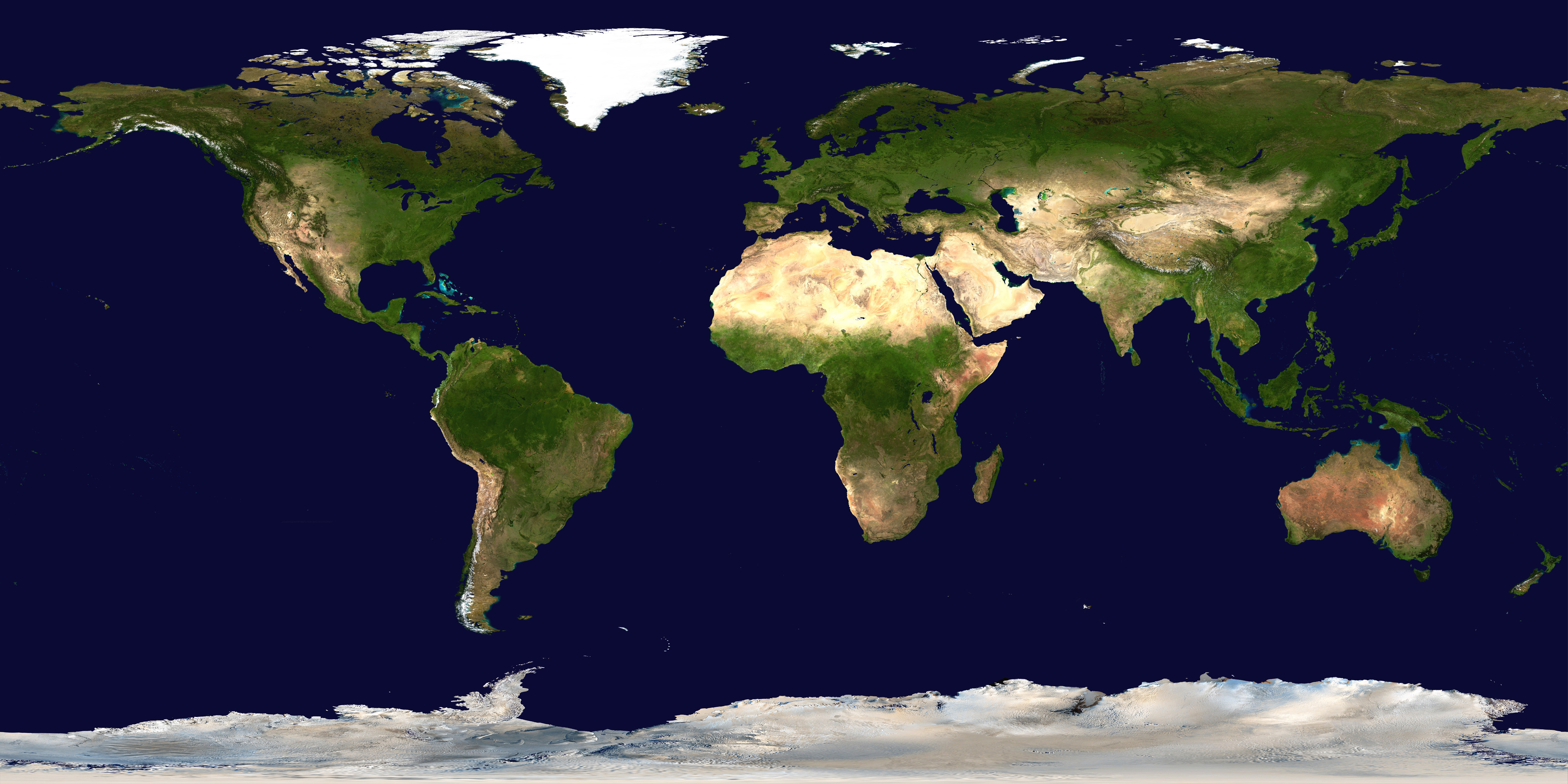 large_scale_satellite_map_of_the_World