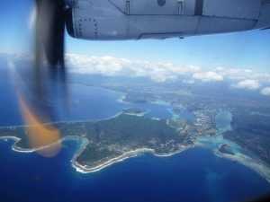 Port Vila from the air (image: Cangiano & Torre)