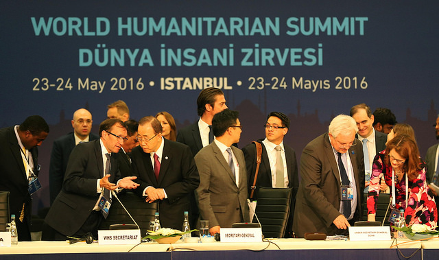 High-Level Leaders Round Table (Flickr/World Humanitarian Summit CC BY-ND 2.0)