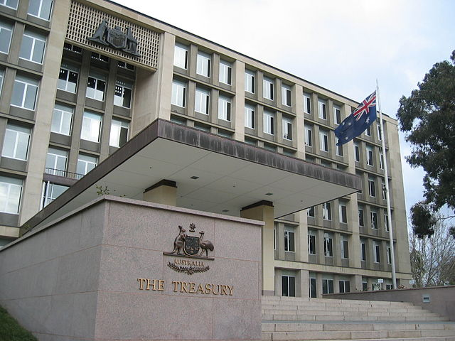 Australian Treasury (Wikimedia Commons, CC BY-SA 3.0)