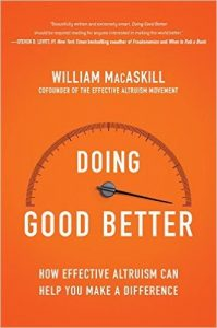 cover of Doing Good Better
