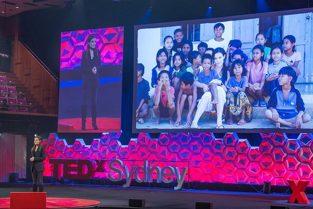 Tara Winkler speaking at TEDxSydney 2016 (Flickr/TEDxSydney/Katie Barget CC BY-NC-ND 2.0)